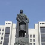 Lenin i Minsk Foto: Ota Tiefenböck