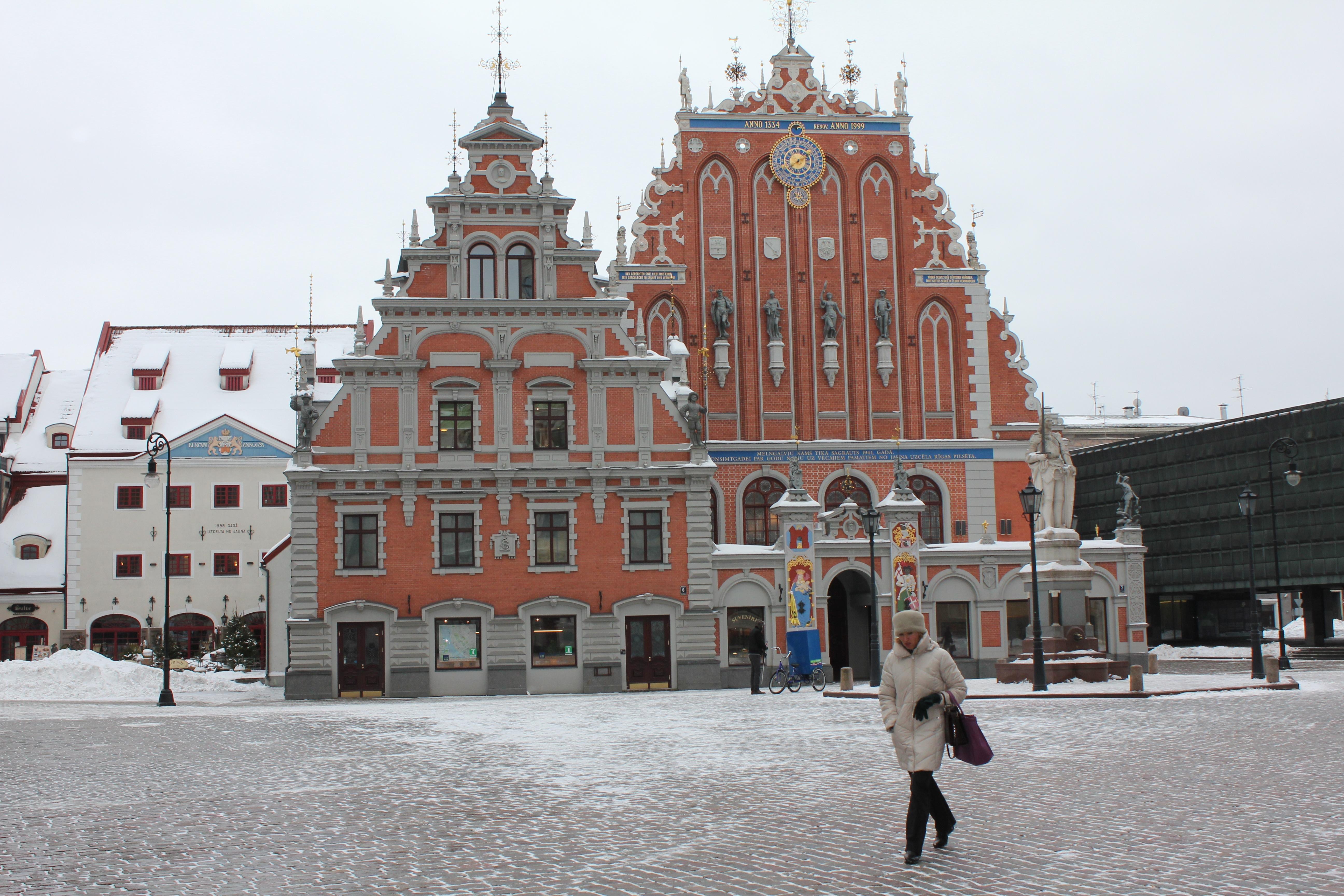 Den lettiske hovedstad Riga Foto: Ota Tiefenböck
