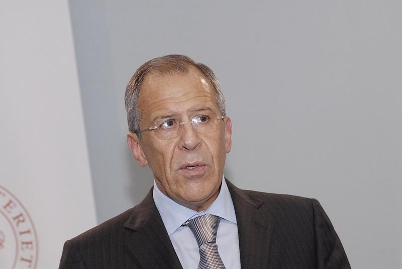 Den russiske udenrigsminister Sergej Lavrov  Foto: Dreamstime