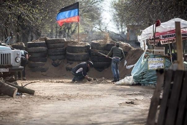 Separatisterne i Østukraine foreslår våbenhvile  Foto: Lugans Gv.