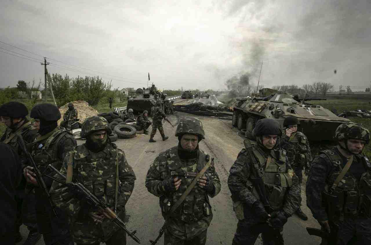 Det ukrainske militær  Foto: Det ukrainske Forsvarsministerium