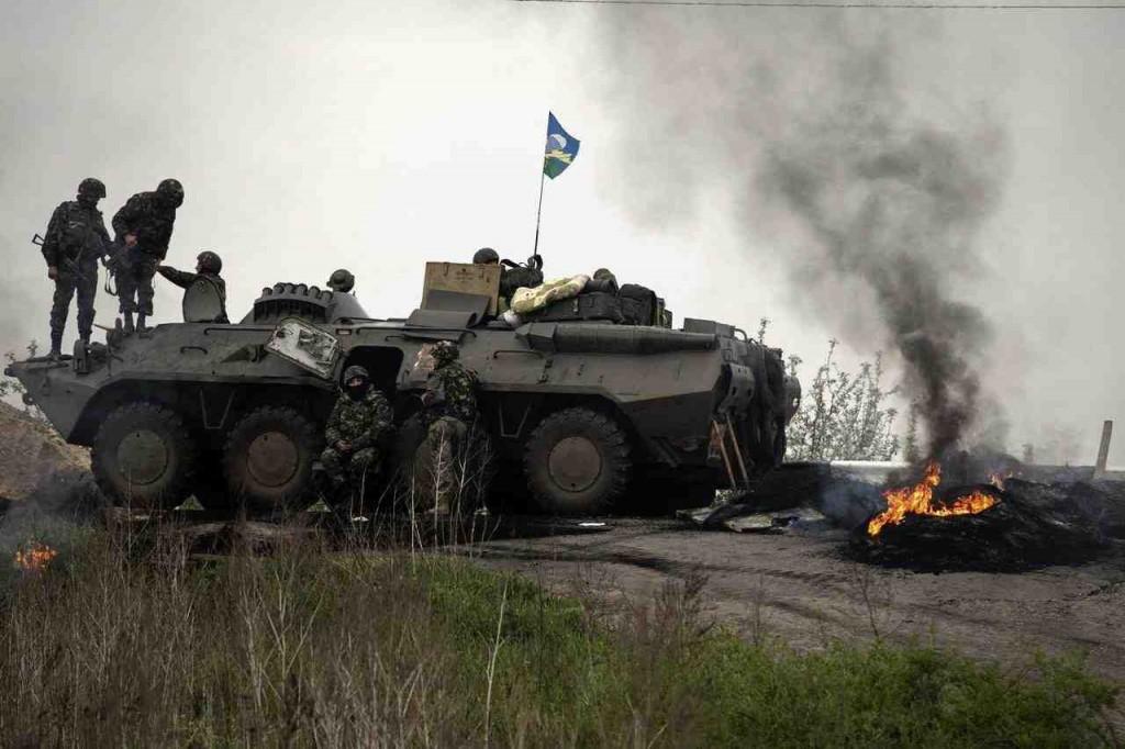 Urolighederne i Østukraine nærmer sig sin afsluttende fase  Foto: Det ukrainske Frosvarsministerium