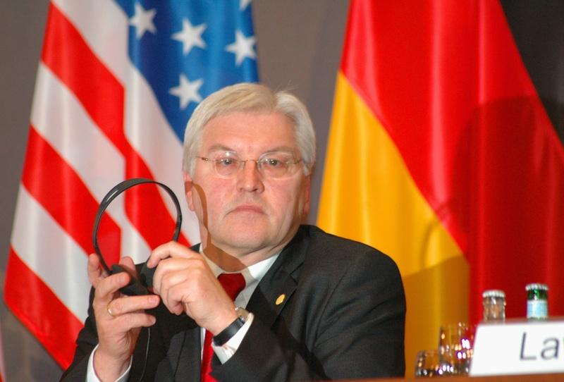 Den tyske udenrigsminister Frank-Walter Steinmeier Foto: Wikimedia