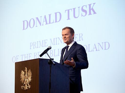 Donald Tusk Foto: Andrzej Barabasz