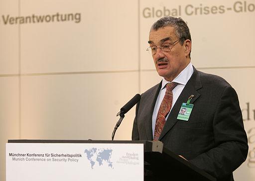 Karel Schwarzenberg, her ved München sikkerhedkonferrence i 2007  Foto: Kai Môrk