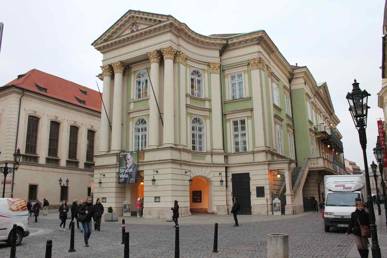 Stavovske divadlo, hvor Mozarts opera Don Giovanni havde premiere i 1787 Foto: Ota Tiefenböck