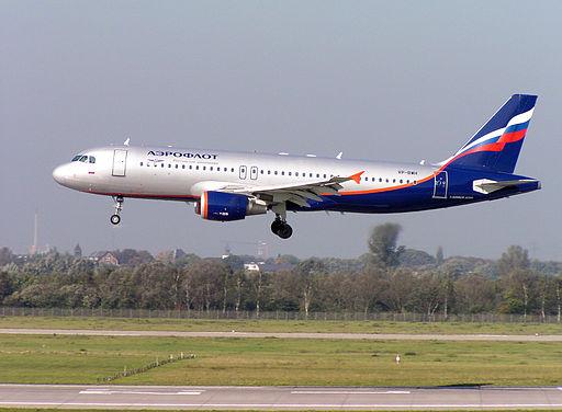 Det russiske flyselskab Aeroflot er omfattet af ukrainske sanktioner mod Rusland Foto: Arcturus