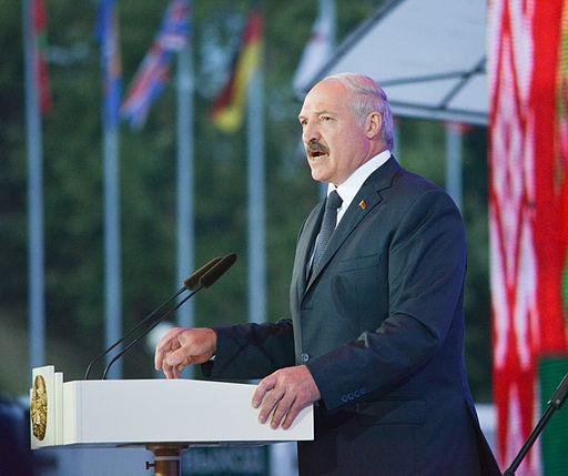 Den hviderussiske præsident Alexander Lukasjenko  Foto: Okras