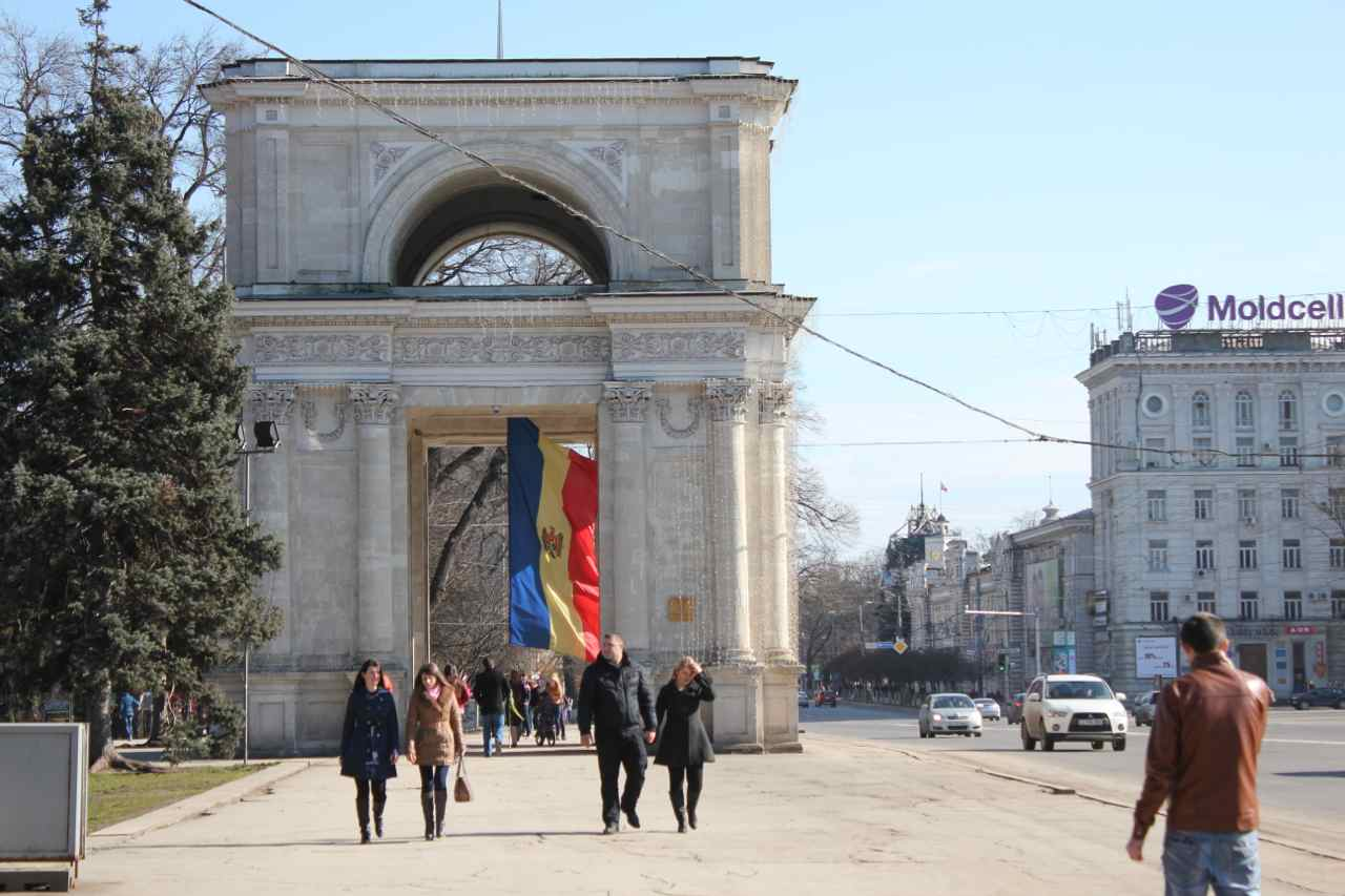 Moldovas hovedstad Chisinau Foto: Ota Tiefenböck
