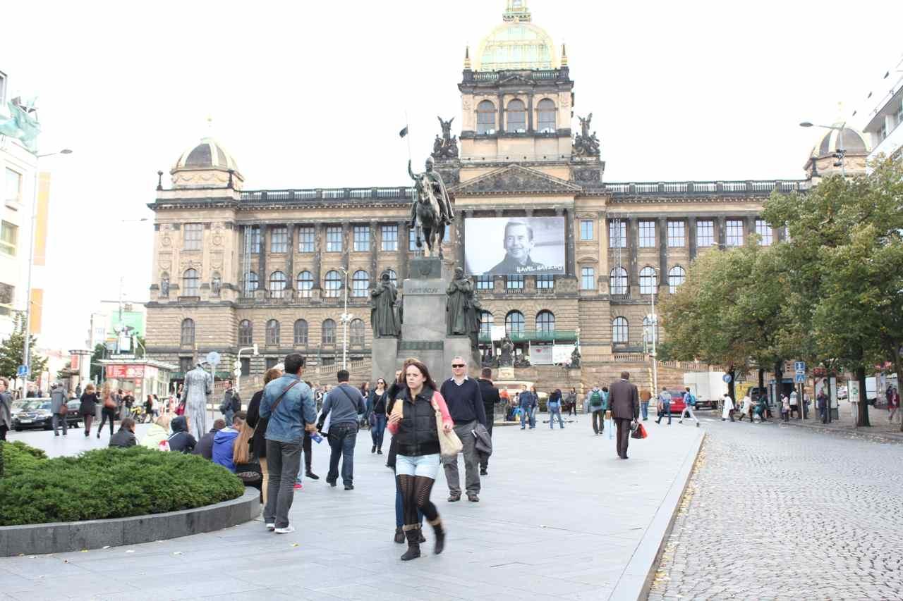 Den tjekkiske hovedstad Prag Foto: Ota Tiefenböck