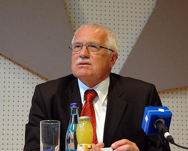 Tjekkiets tidligere præsident Vaclav Klaus  Foto: Wikimedia Commons