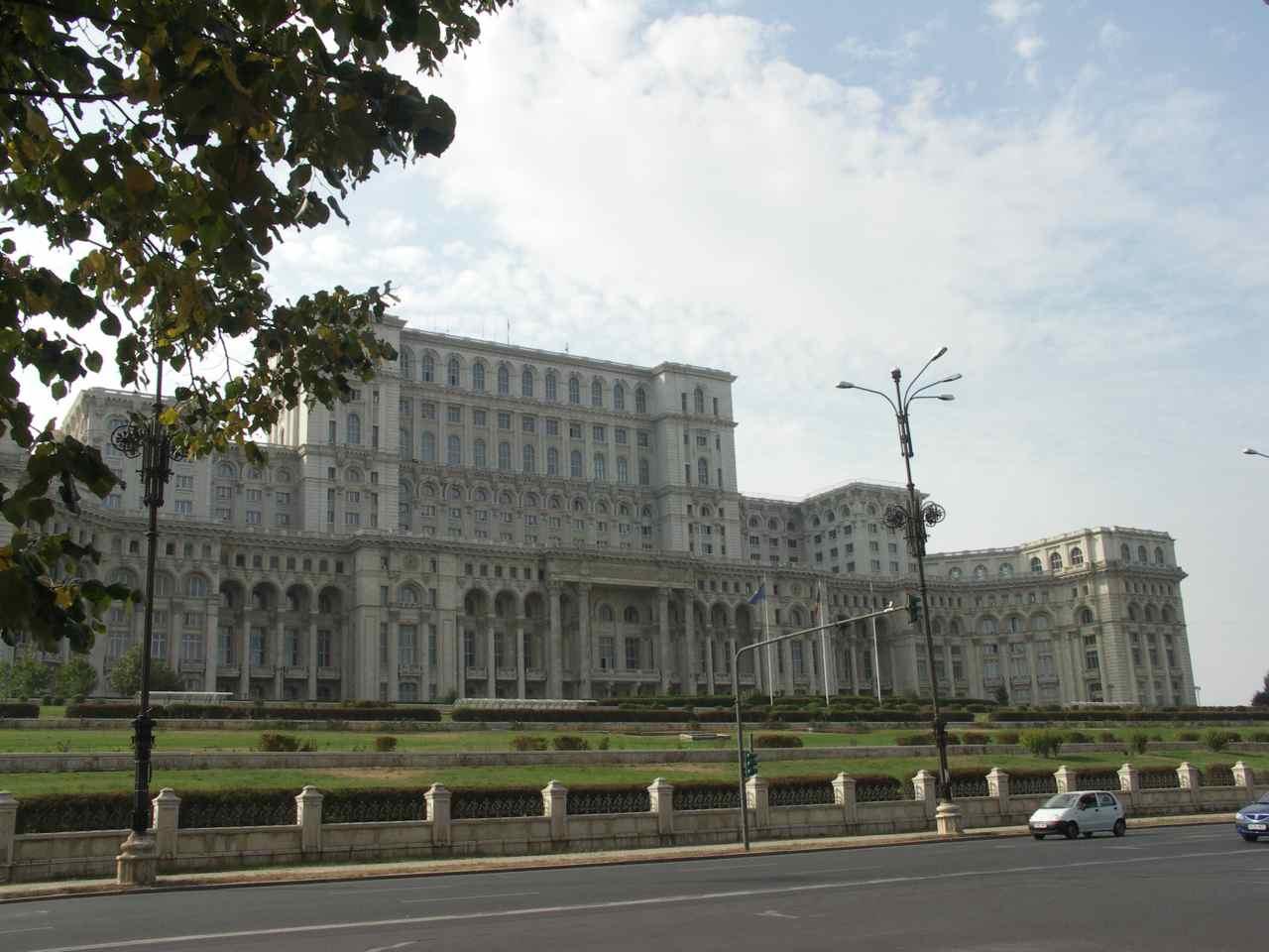 Parlamentet i Bukarest  Foto: Ota Tiefenböck