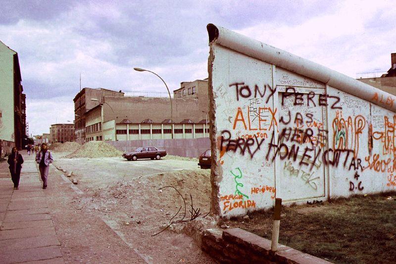 Resterne af Berlinmuren Foto: Jurek Durczak