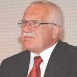 Tjekkiets tidligere præsident Vaclav Klaus  Foto: Wikimedia