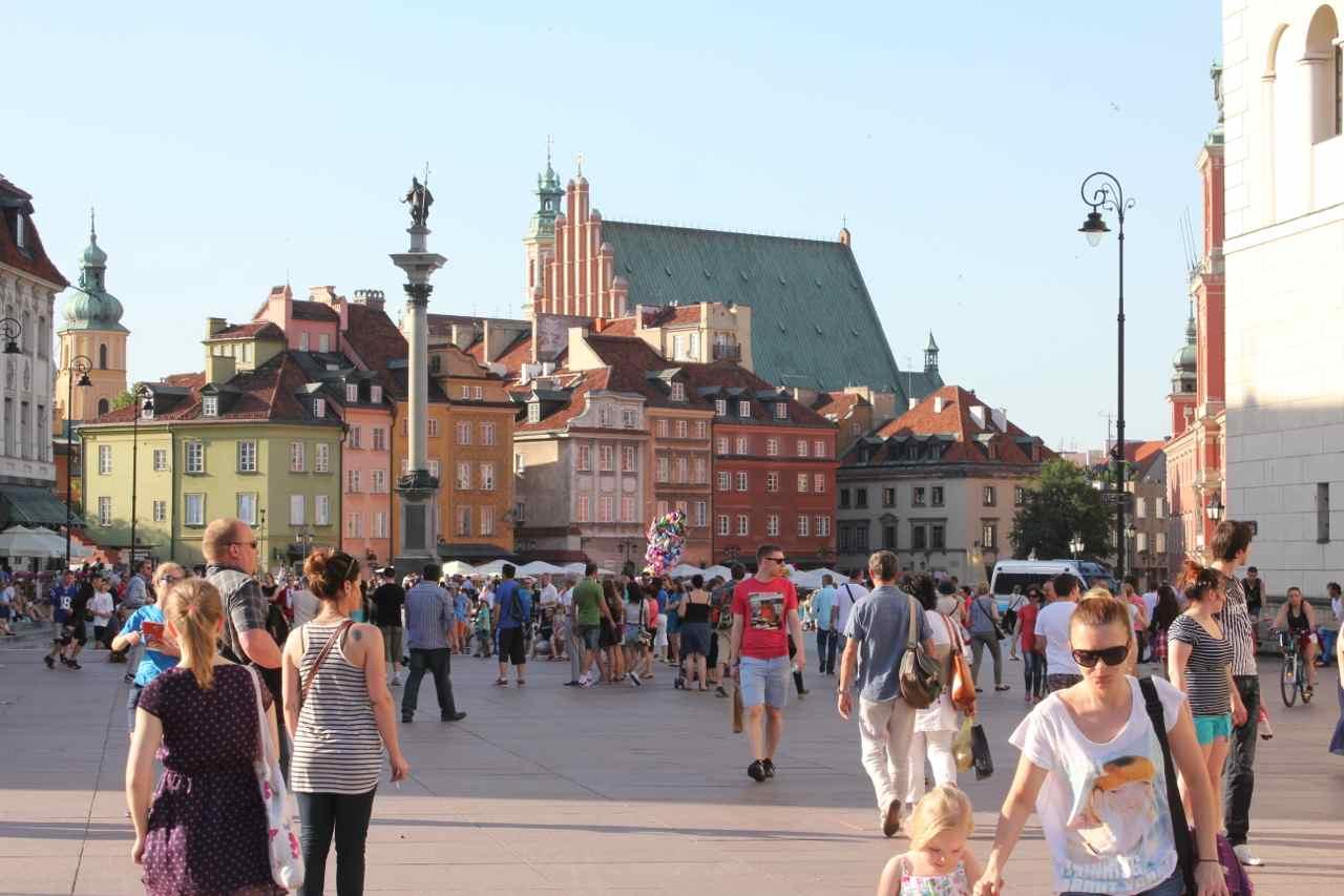 Warszawas indre by, hvor demonstrationen løber af stablen klokken 16 lørdag : Ota Tiefenböck