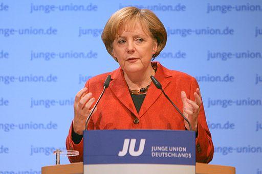 Den tyske kansler Angela Merkel  Foto: Jacques Grießmayer