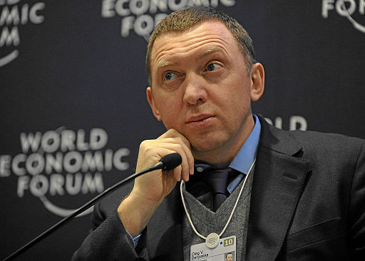 Oleg Deripaska  Foto: World Economic Forum