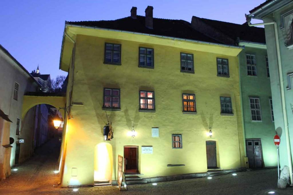 Vlad Tepes hus i Sighisoara Foto: Ota Tiefenböck