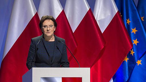 Polens tidligere premierminister Ewa Kopacz Foto: Platforma Obywatelska RP
