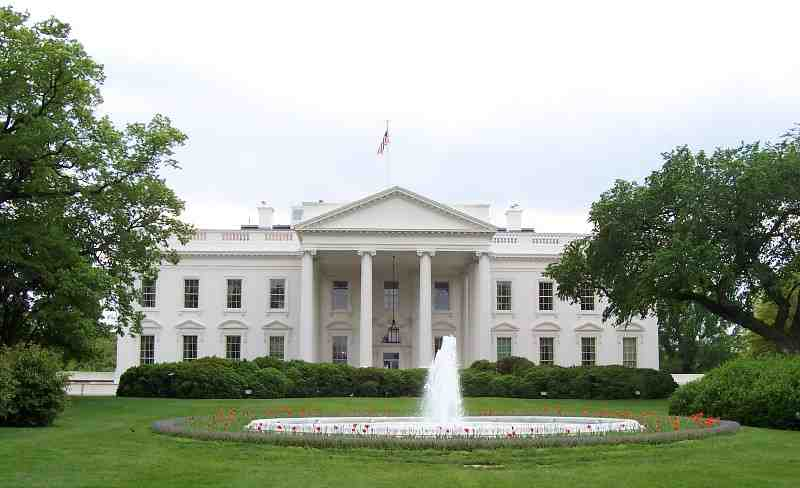 Det Hvide hus Foto: Wikimedia