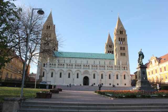 Pécs Katedral Foto: Ota Tiefenböck