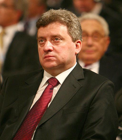 Den makedonske præsident Gjorge Ivanov Foto: Harald Dettenborn