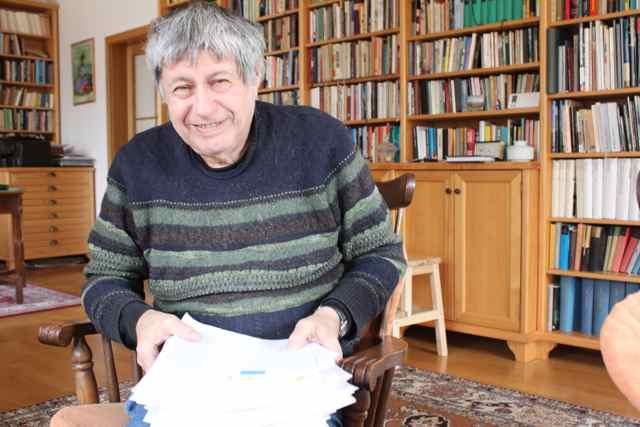 Den tjekkiske forfatter Ivan Klima Foto: Ota Tiefenböck
