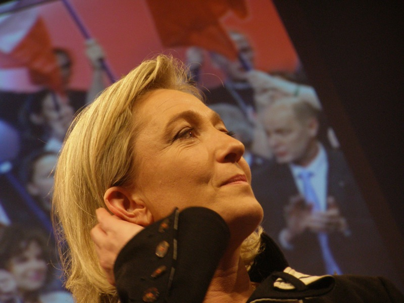 Marine Le Pen vil mødes med andre ultranationalistiske ledere i Prag  Foto: Antoine Bayet