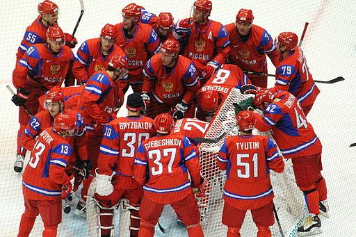 Ruslands landhold, her under OL i Vancouver i 2010  Foto: Chase N.
