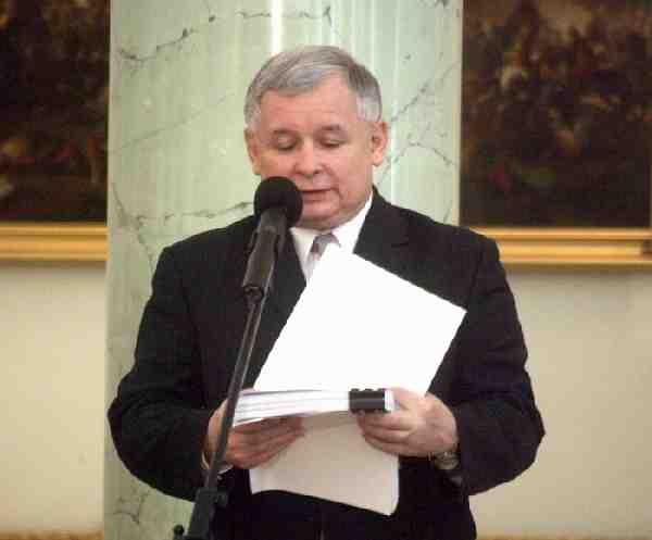 J. Kacznski  Foto- Archiwum Kancelarii Prezydenta RP