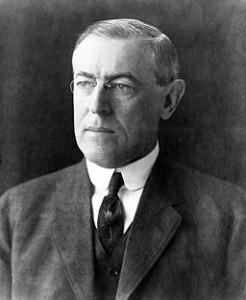 Den amerikanske præsident Woodrow Wilson Foto: Wikimedia