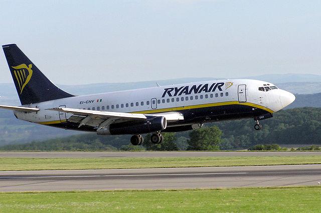 Ryanairs  fly i Bristol  Foto: Arpingstone