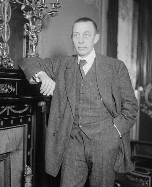 Sergej Rachmaninov i New York Foto- Library of Congress
