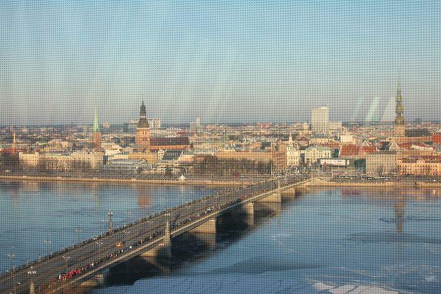 Letlands hovedstad Riga Foto: Ota Tiefenböck