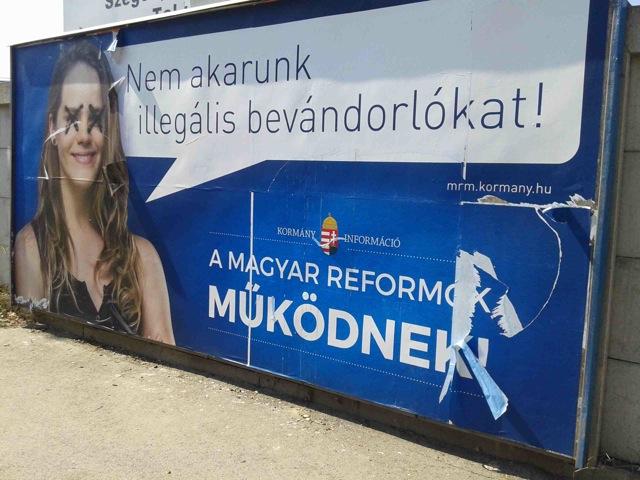 Plakat Ungarn