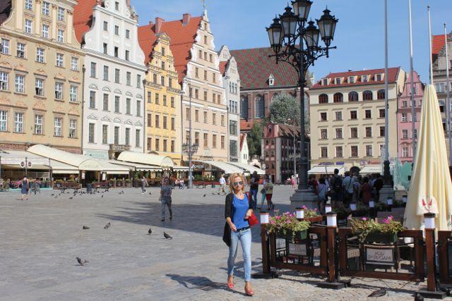 Polen har meget at byde på, for eksempel den sydpolske by Wroclaw, men pas på, når du bruger kreditkort i landet Foto: Ota Tiefenböck