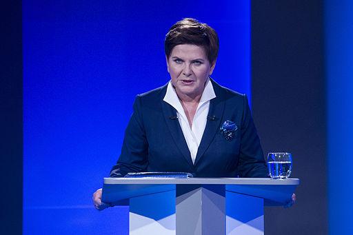 Polens premierminister Beata Szydlo Foto: Platforma Obywatelska RP