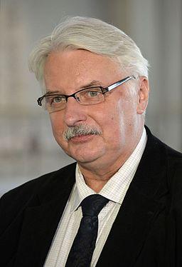 Polens udenrigsminister Witold Waszczykowski Foto- Adrian Grycuk