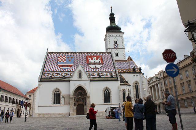 Den kroatiske hovedstad Zagreb Foto: Ota Tiefenböck