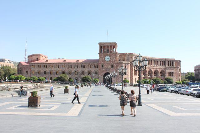 Frihedspladsen i Jerevan, Foto: Ota Tiefenböck