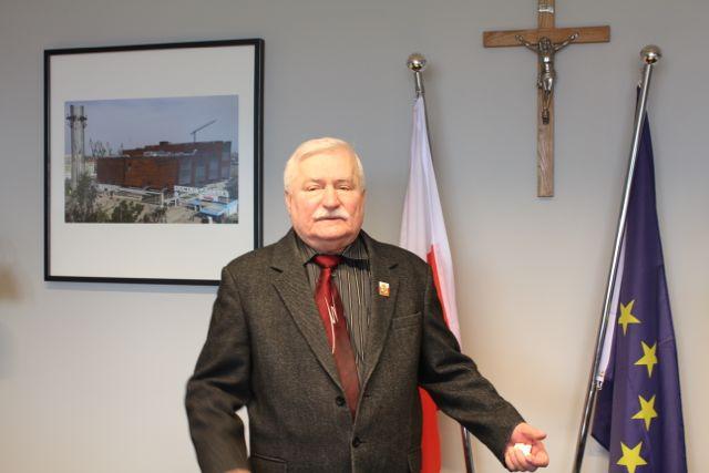 Lech Walesa Foto: Ota Tiefenböck