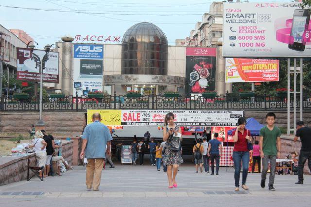 Kasakhstans hovedstad største by Almaty Foto: Ota Tiefenböck