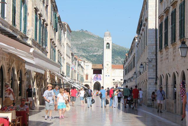 Dubrovnik hovedgade Foto. Ota Tiefenböck