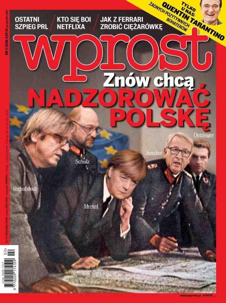 Forsiden af Wprost  Foto: Wprost FB