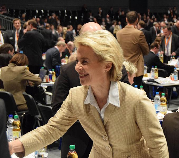 Ursula von der Leyen på CDUs partidag, 2014. Voto: Olaf Kosinsky / Wikipedia