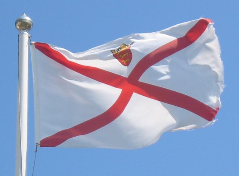 Jersey flag Foto: Man vyi