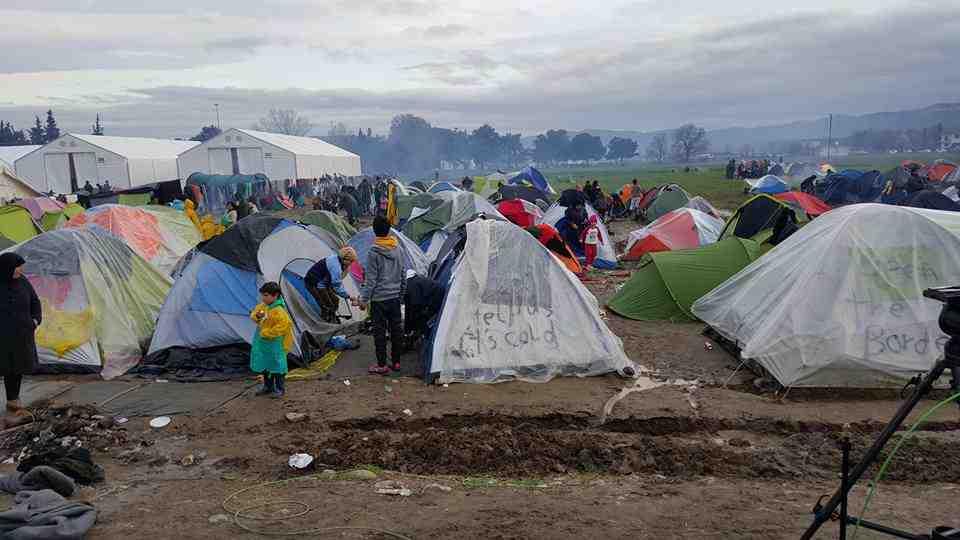 flygtningelejre i grækenland