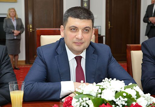 Volodymyr Grojsman Foto-Michał Józefaciuk