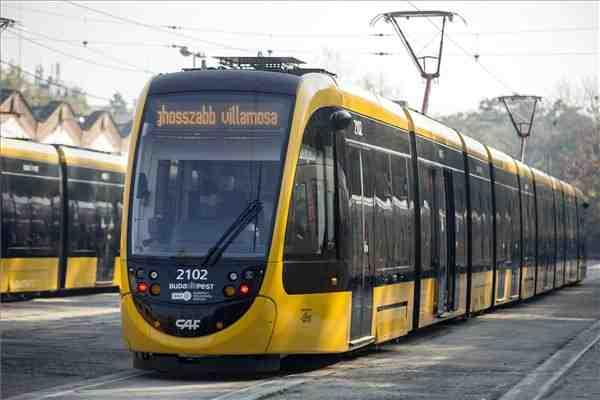 Verdens længste sporvogn i Budapest Foto: Wiki