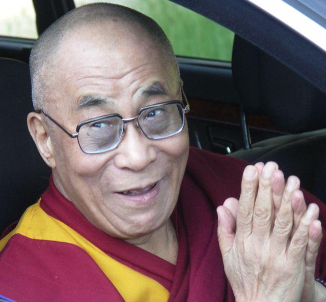 Tibets åndelige leder Dalai Lama Foto: Ota Tiefenböck